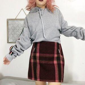 New / gap plaid skirt